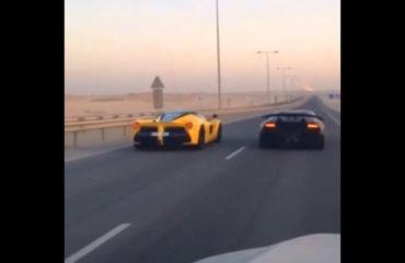 Ferrari-LaFerrari Lamborghini-Sesto-Elemento