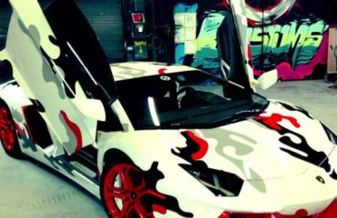 aventador chris brown