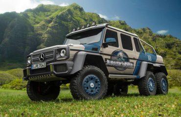 Mercedes jurassic world