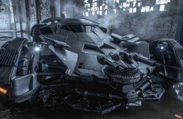 Batmobile de Batman vs Superman : Dawn of Justice Wallpaper