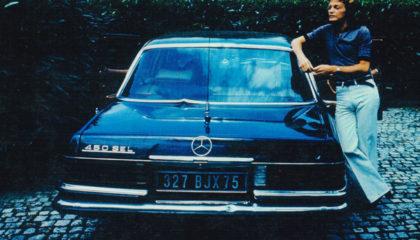 Mercedes 450 de Claude François