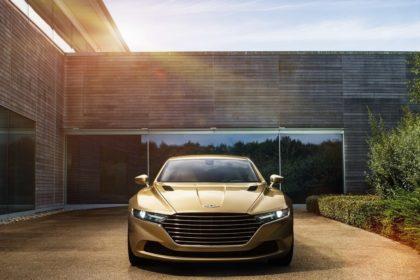 Aston-Martin-Lagonda Taraf (de face)