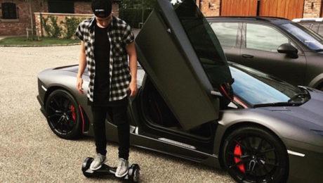 Nasri Lamborghini Aventador