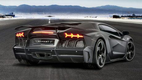 Une belle Lamborghini préparée par Mansory