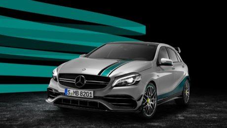 Mercedes A45 AMG Petronas