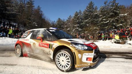 Sebastien Loeb au Rallye Monte-Carlo 2013