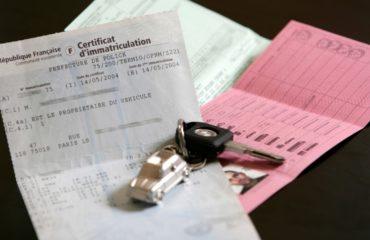 tarif taxe carte grise