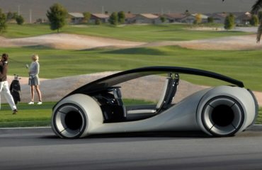 Un prototype d'Apple Car