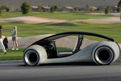 Un prototype d'Apple Car