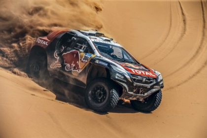 Sebastien Loeb au Dakar