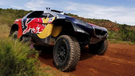 Sebastien Loeb mène le Dakar