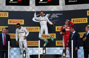 F1 Podium Russie