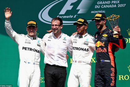 Victoire de Lewis Hamilton au GP de Canada