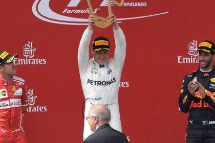 Bottas vainqueur au Grand Prix d'Autriche
